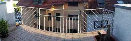 Ansprechende 2-Zimmer-Dachgeschosswohnung mit Balkon in Altrip