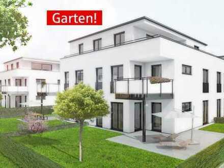 Attraktive 3-Zimmer-Wohnung mit eigenem Garten