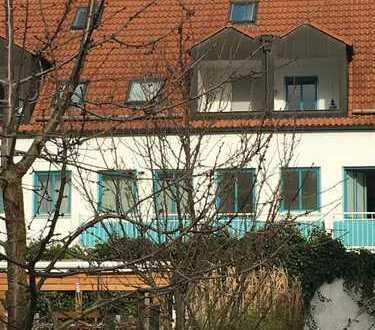 Absolut ruhige 1-Zimmer-Wohnung mit Balkon in Augsburg-Univiertel