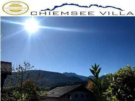 RESERVIERT: Hochwertige Terrassenwohnung mit Bergblick und Garten von Chiemsee Villa Immobilien