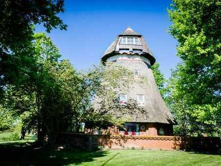 Historische Mühle in idyllischer Lage