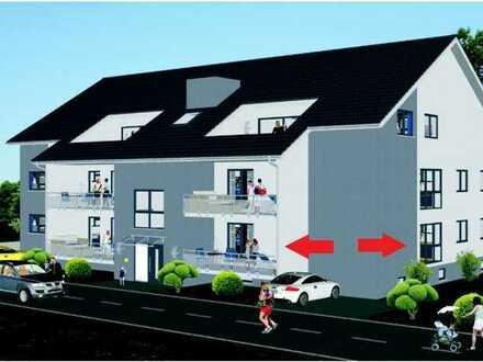 Erstbezug: Helle 2-Zimmer Erdgeschosswohnung mit großem Balkon in 76709 Kronau