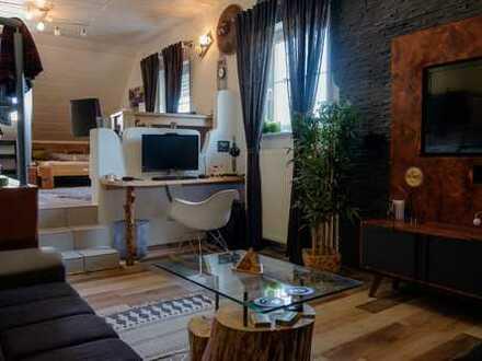 Gemütliche, teilmöblierte und vollständig renovierte 1-Zimmer-Wohnung in Bindlach