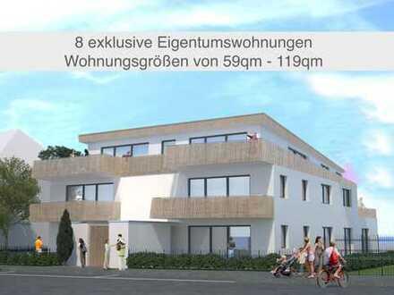 Hochwertige exklusive Neubau-Wohnanlage von Architekten und Bauträger