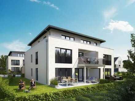 Stilvolle 4-Zimmer-Penthouse-Wohnung mit Dachterrasse im luxuriösen Dambach