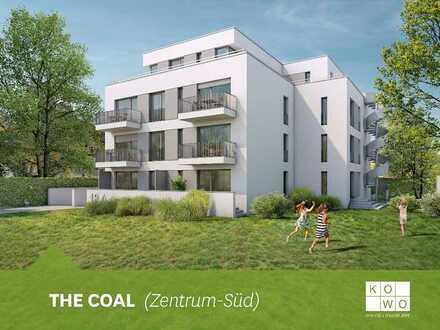 NEUBAU IM ZENTRUM-SÜD: Exklusive 2-Zimmer-Wohnung mit Terrasse im EG!