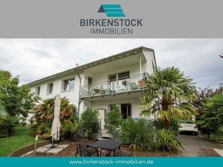 Durchdacht aufgeteilte Erdgeschosswohnung mit großem Garten und Terrasse in gefragter Lage Bonns