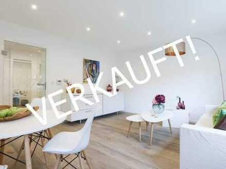 Provisionsfrei-Erstbezug nach Luxus-Sanierung: Design-3-Zi.-Whg.-sonniger Balkon mit Blick ins Grüne