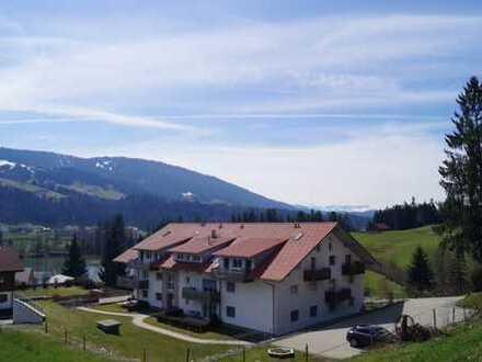 Exklusiv ausgestattet - Traumhafte barrierefreie 2- Zi.- Wohnung in naturnaher Lage bei Oberstaufen