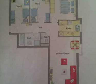 Stilvolle, neuwertige 4-Zimmer-Wohnung mit Balkon und Einbauküche in Schwieberdingen