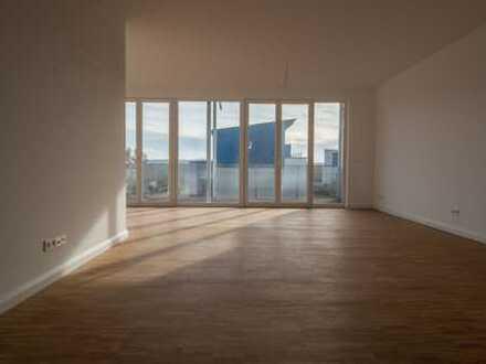 Townhouse Neubau-Wohnung - Stadtkrone-Ost, 105 m² - 3,5 Zi, großer Süd-Balkon