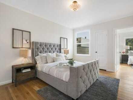 Neustadtflair und top ausgestattete 3-Zimmer Wohnung mit Südwestbalkon und bodengleicher Dusche!