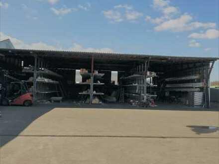 Produktion und Lagerhalle (1) neben Traditionsbetrieb Ammann Gensingen