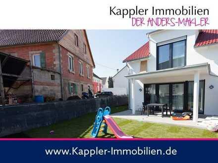 Massive Neubau-Doppelhaushälfte I Kappler Immobilien