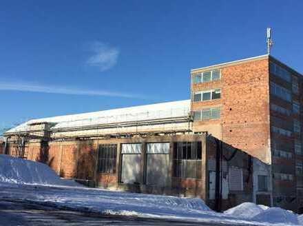 15000 m² Lager- und Produktionsflächen in Arzberg zu vermieten