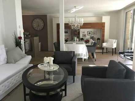4-Zimmer Wohnung mit luxuriöser Vollausstattung und Garten