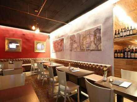 Modernes italienisches Restaurant mit Holzofen in sehr guter Lage!
