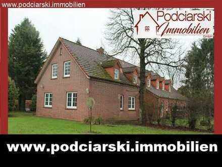 Doppelhaushälfte mit 2 Wohnungen in idyllischer Lage am Badesee mit zusätzl. Option zur Pferdehaltun