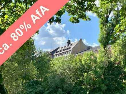 Lofts mit Steuervorteil * Alte Baumwolle * 3-Raum-Wohnung * großer Balkon * Parkblick * ERSTBEZUG