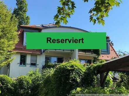 Galeriewohnung mit 4 Zimmern und Südbalkon in bester Lage von Radebeul