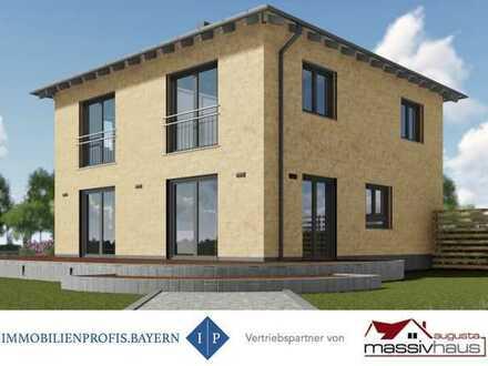 Neubau! Ihre Stadtvilla auf einem herrlichem Grundstück in Prittriching! MUC-Pendler...