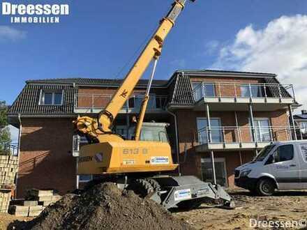 Büsum: Großzügige Neubau-Penthousewohnung Nr. 8 mit 2 Zimmern auf ca. 1200 m² Eigenland