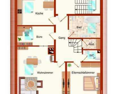 5 Zimmerwohnung in Fischach zu vermieten
