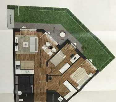 Erstbezug - Moderne 3,5-Zimmer-Erdgeschosswohnung mit Garten