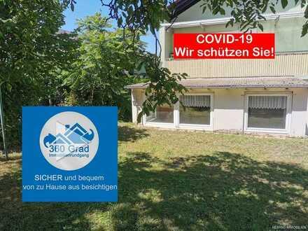 HEMING-IMMOBILIEN - Idyllische 4-Zimmer-Gartenwohnung