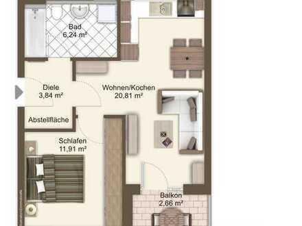 Paar oder Single? Moderne 2-Zimmer-Wohnung nähe U-Bahn!