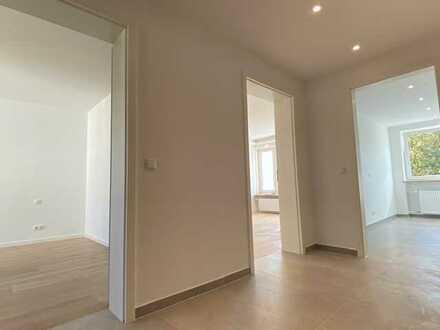 Erstbezug nach Sanierung mit Balkon: helle, ruhige 2-Zimmer-Wohnung mit West-Balkon, München
