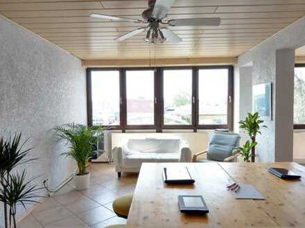 !!Traitteur Immobilien!!- Büroeinheit mit guten Parkmögl. auf der Friesenheimer Insel zu vermieten!