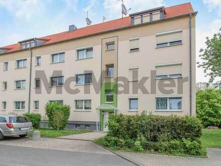 Ruhig und charmant: Bewohnte 3-Zi.-Wohnung mit Pkw-Stellplatz in Grimma-Dürrweitzschen