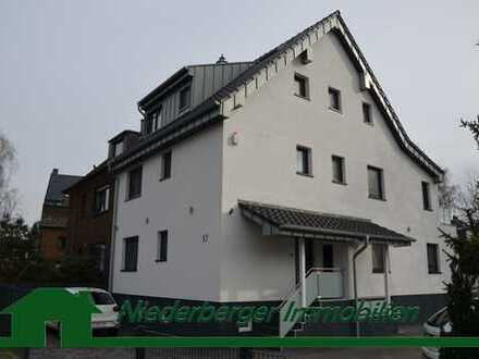 KR-Bockum – Traumhafte Maisonette-Wohnung mit Dachterrasse und wunderschönem Blick ins Grüne