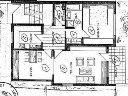 Große 2,5 Zimmer Wohnung in Stuttgart - Hedelfingen