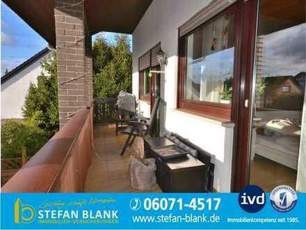 Wohnen in Dieburg in beliebter Lage! Viel Platz - mit Sonnenbalkon, Gartenanteil und Garage!
