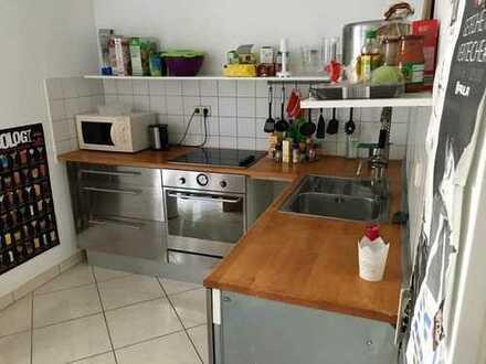 Suche Nachmieter für Zimmer in 2er WG in zentraler Lage mit Balkon, Küche, WLAN, Geschirrspüler, Bac