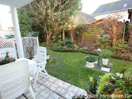 Wunderschöne 3 Zimmer-Eigentumswohnung mit kleiner Terrasse und eigenem Gartenteil in Haibach