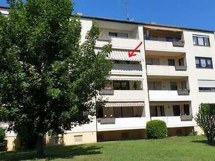 Modernisierte 4-Zimmer-Wohnung mit Balkon, EBK, Garage in Landau