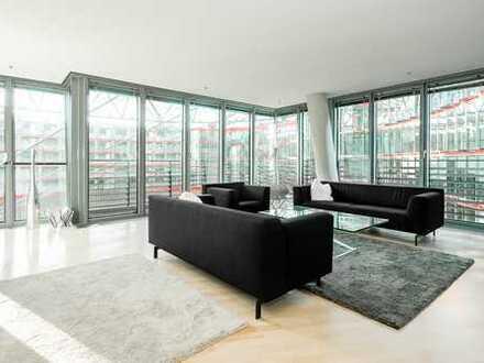 Exklusives Wohnen in visionärer Architektur im Sony Center, Potsdamer Platz