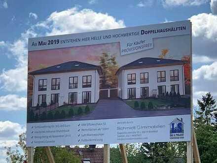 Inklusive aller Baunebenkosten: Neubau Doppelhaushälfte ab Juli 2019