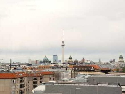 **Helle 2-Zimmerwohnung mit Balkon in Berlin Mitte**