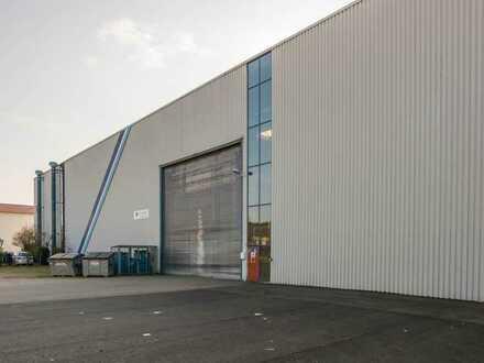 Produktions-/Lagerhalle im Dreiländereck