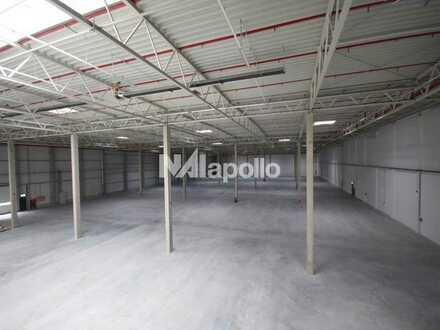 ca. 5.000 m² Hallenfläche   WGK III   Jetzt informieren!