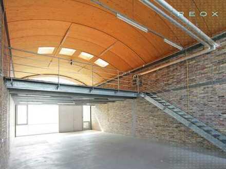 Repräsentative Lagerhallen in industriekulturellem Umfeld - PROVISONSFREI!