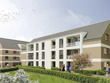 Großzügige 2-Zimmerwohnung mit Loggia und Gartenanteil!