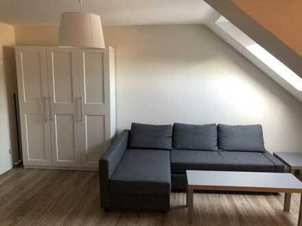 Möblierte Einzimmerwohnung in der Karlsruher City