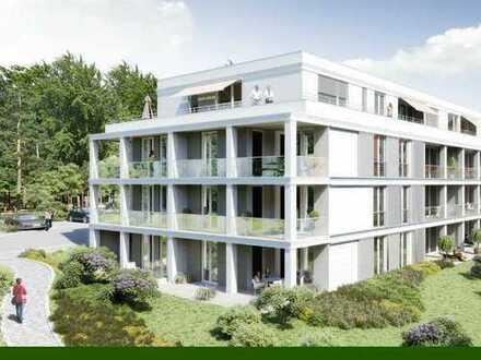 Wunderschön Wohnen in in Oberloschwitz, traumhafte 2-Zimmer Wohnung mit Terrasse und Gartenanteil