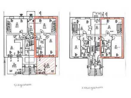 4-Zimmer-Maisonette mit Terrasse und Garten
