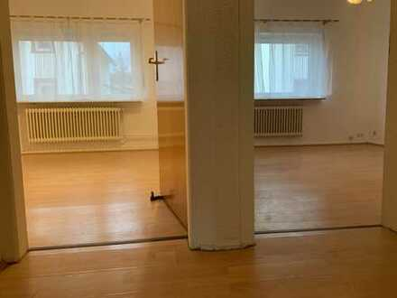 Helle 2-Zimmer-EG-Wohnung mit EBK am Stadtwald in Frankfurt am Main, Schwanheim